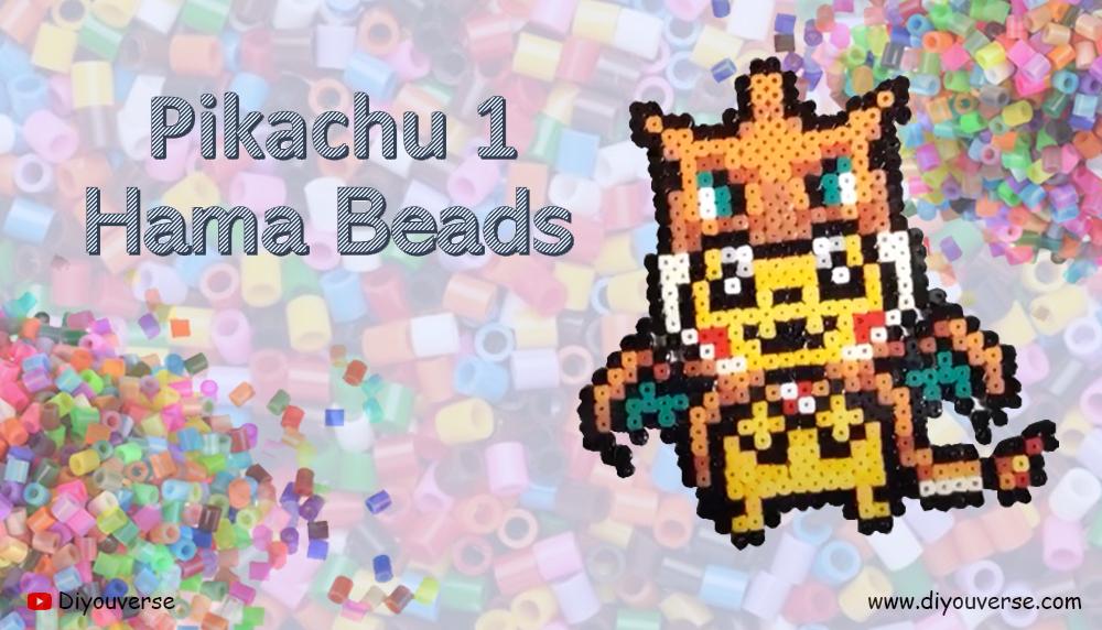 Pikachu 1 Hama Beads