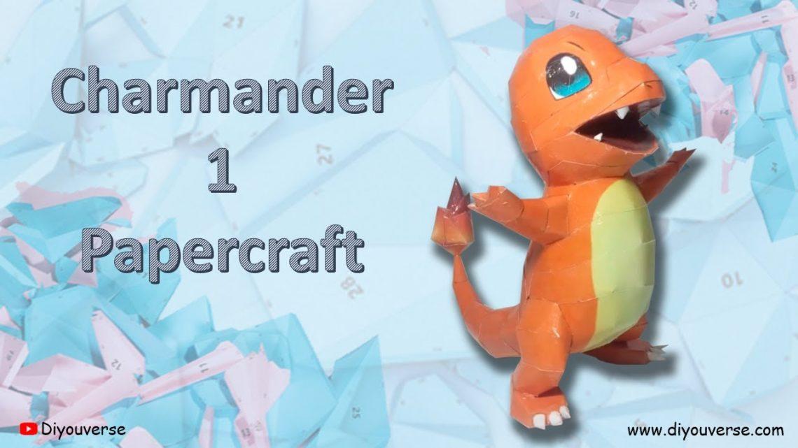 Charmander 1 Papercraft