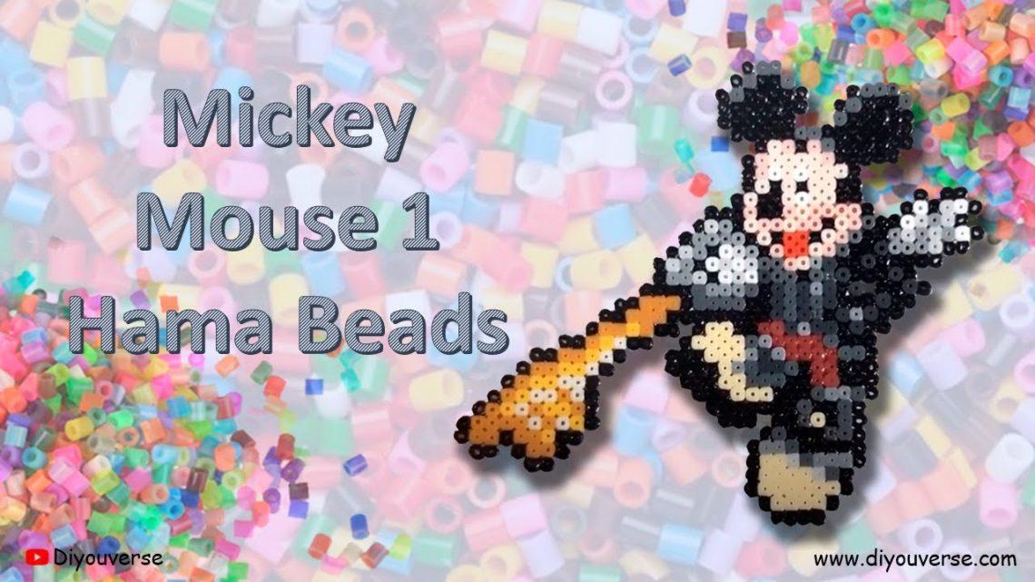 Mickey Mouse 1 Hama Beads