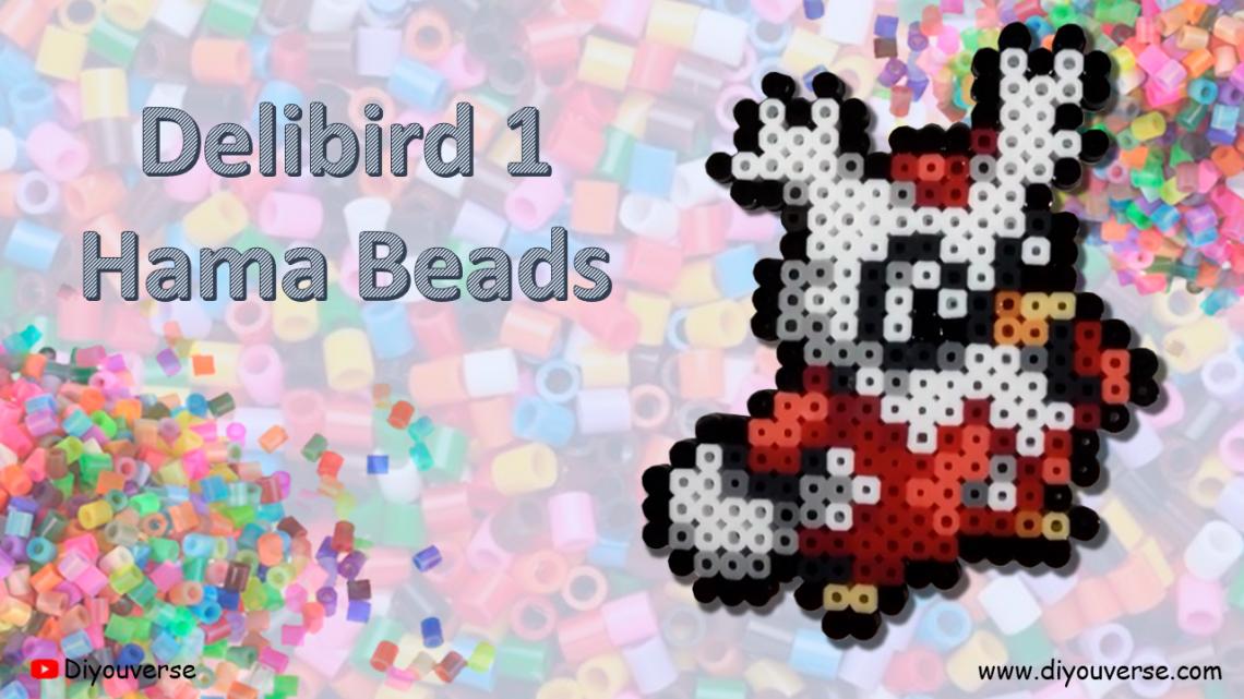 Delibird 1 Hama Beads