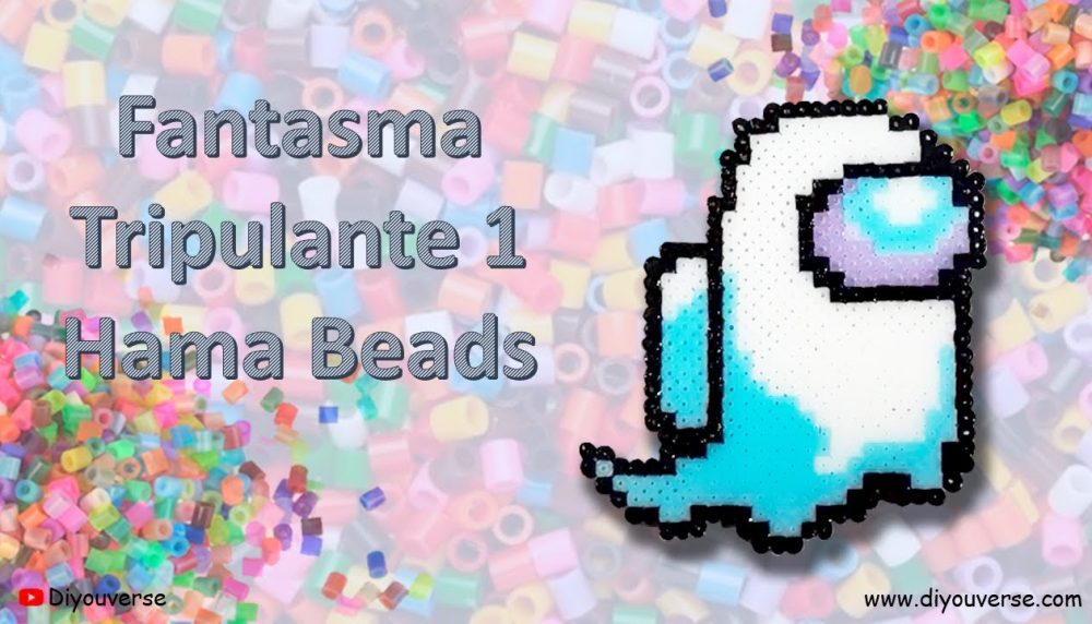 Fantasma Tripulante 1 Hama Beads Among Us