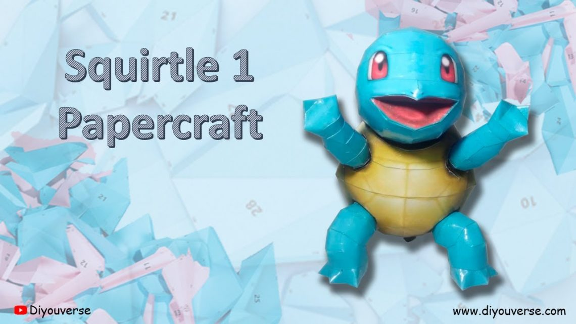 Squirtle 1 Papercraft