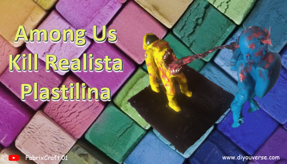 Among Us Kill Realista Plastilina