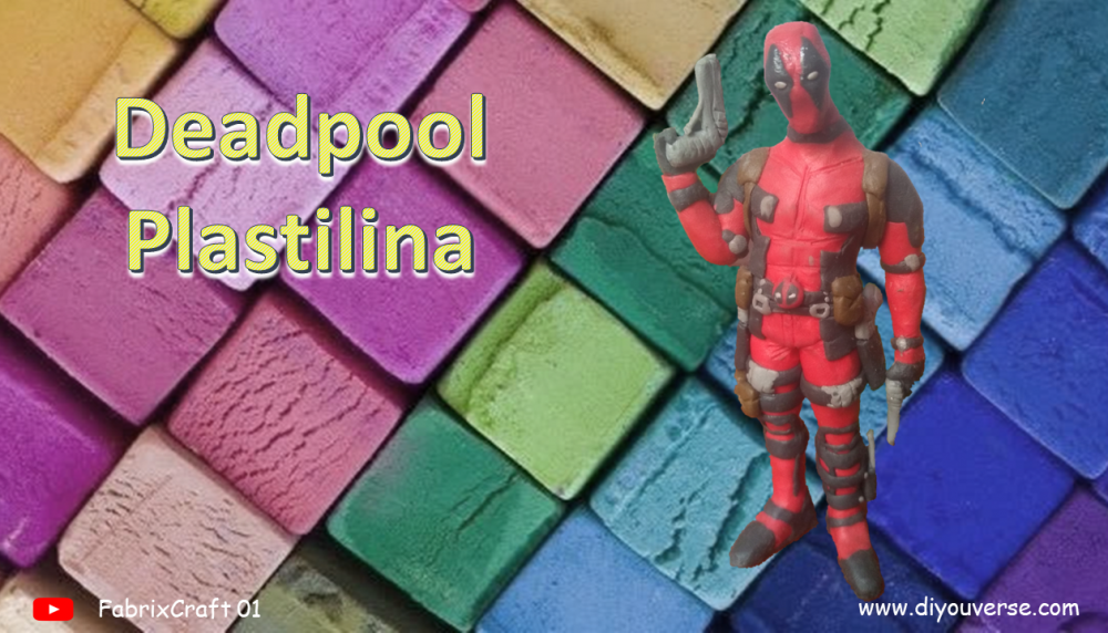 Deadpool 1 Plastilina