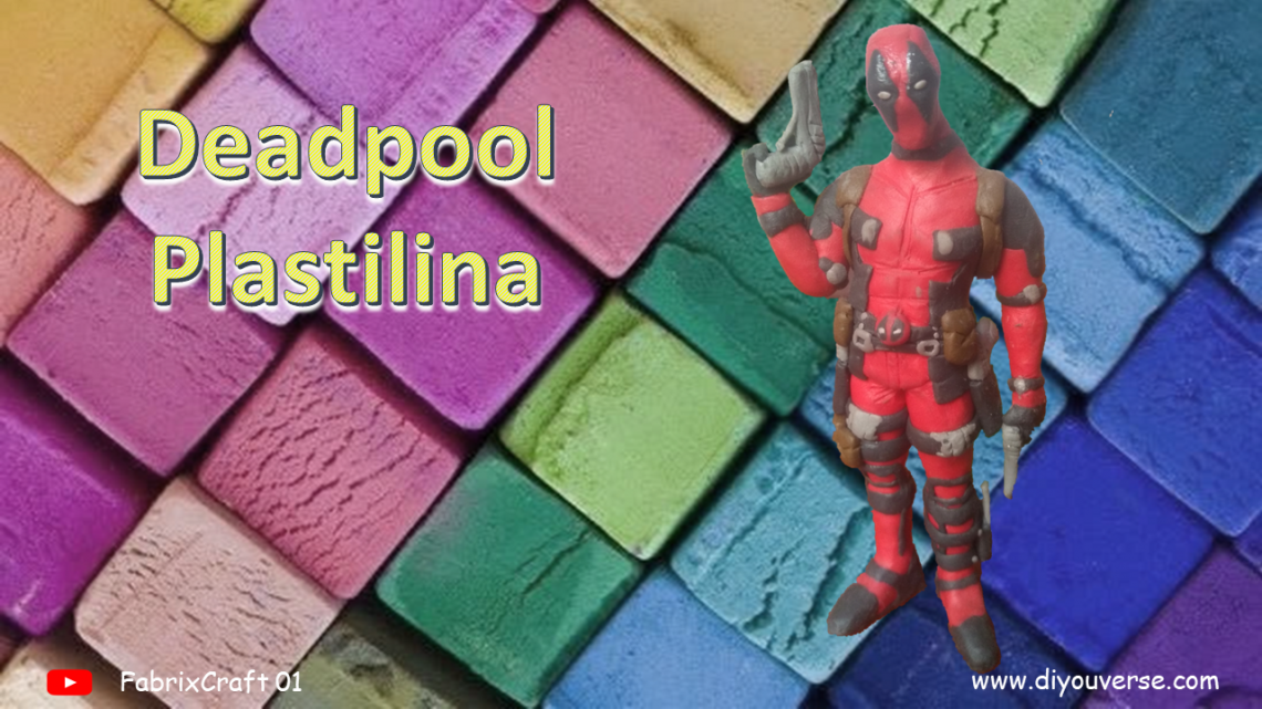 Deadpool 1 Plastilina