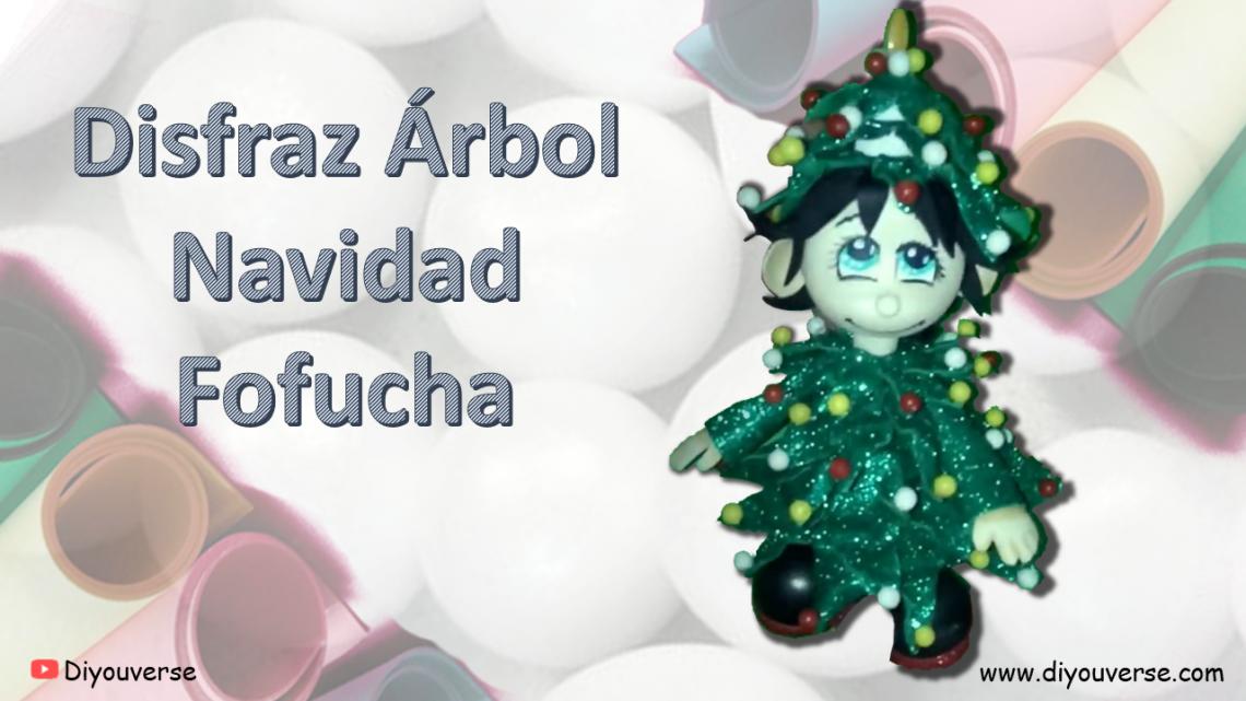 Disfraz Árbol de Navidad Fofucha