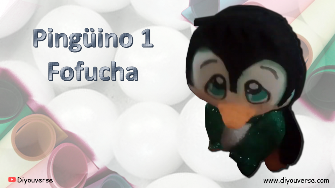 Pingüino de Navidad 1 Fofucha