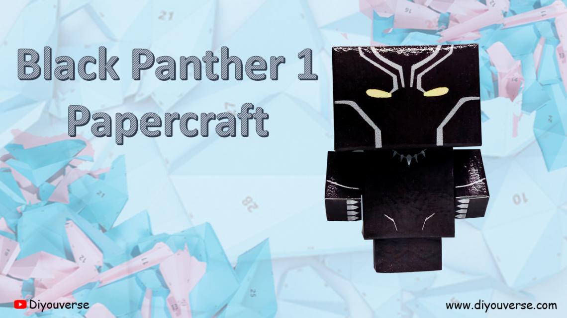 Black Panther 1 – Papercraft