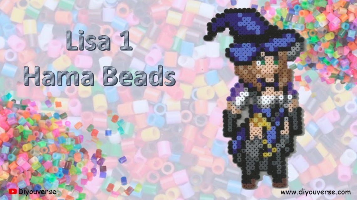 Lisa 1 Hama Beads