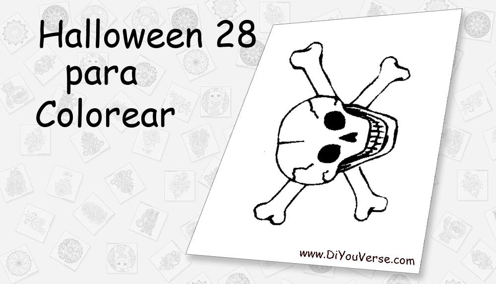 Halloween 28 Para Colorear